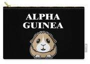 Alpha Guinea Pig Carry-all Pouch