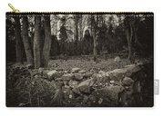 Alpine Benders Cemetery Carry-all Pouch by Mark Jordan