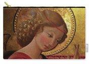 Altarpiece Angel Antique Christian Catholic Religious Art Carry-all Pouch