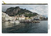 Amalfi Town Seen From Ferry Approaching Carry-all Pouch