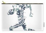 Amari Cooper Dallas Cowboys Pixel Art 3 Carry-all Pouch