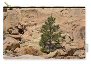Amazing Life On The Sandstone Cliffs Carry-all Pouch