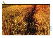 Amber Waves Of Grain Painting  Carry-all Pouch