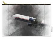 American Airlines Boeing 767-200 Painting Carry-all Pouch