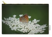 American Copper On Queen Anne's Lace Carry-all Pouch
