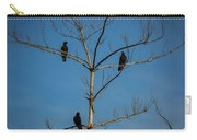 American Crows In Bare Tree Carry-all Pouch