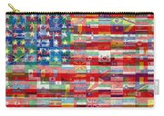 American Flags Of The World Carry-all Pouch