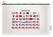 American Flags Carry-all Pouch