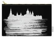 Amsterdam Skyline Brush Stroke White Carry-all Pouch