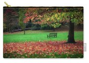 An Autumn Bench At Clyne Gardens Carry-all Pouch
