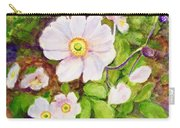 Anemones Birthday Card Carry-all Pouch