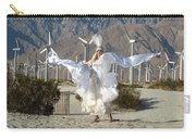 Angel Swirling In The Desert Carry-all Pouch