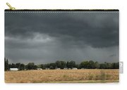 Angry Black Sky Carry-all Pouch