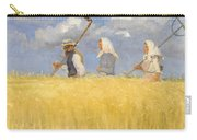 Anna Ancher - Harvesters Carry-all Pouch