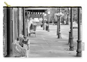 Antique Alley In Black And White Carry-all Pouch