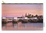 Antique Bridge Of Tavira During Twilight. Portugal Carry-all Pouch