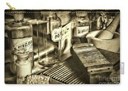 Apothecary-vintage Pill Maker Sepia Carry-all Pouch