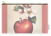 Apple And Blossoms Carry-all Pouch