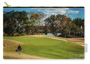 Approaching The 18th Green Carry-all Pouch