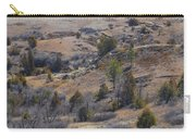 April Badlands Near Amidon Carry-all Pouch