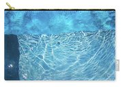 Aqua Agua Abstract Five Carry-all Pouch