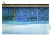 Aqua Agua Abstract Four Carry-all Pouch
