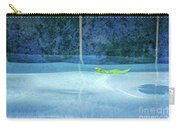 Aqua Agua And Leaf Carry-all Pouch