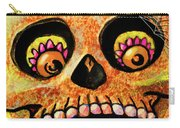 Aranas Sugarskull Of Spiders Carry-all Pouch