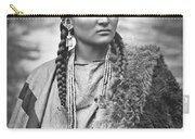 Arapahoe Woman Carry-all Pouch