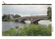 Arch Bridge Over River, Cambridge Carry-all Pouch