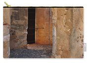 Arches Of A Medieval Castle Entrance In Algarve Carry-all Pouch