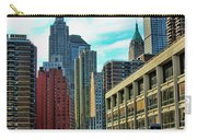 Architecture Nyc From Brooklyn Bridge  Carry-all Pouch