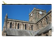 architecture of Hexham cathedral and clock tower Carry-all Pouch