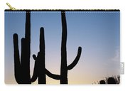 Arizona Cacti, 2008 Carry-all Pouch