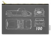 The Austin-healey 100 Carry-all Pouch