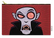 Count Dracula Carry-all Pouch by John Schwegel