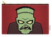 Frankenstein Monster Carry-all Pouch by John Schwegel