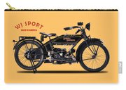 Harley-davidson Wj 1921 Carry-all Pouch by Mark Rogan