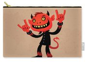 Heavy Metal Devil Carry-all Pouch