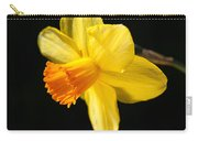 Sunny Yellows Of A Spring Daffodil  Carry-all Pouch