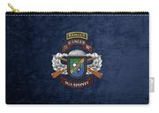 75th Ranger Regiment - Army Rangers Special Edition Over Blue Velvet Carry-all Pouch