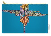 The Abstract Cross Carry-all Pouch