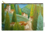 All Is Calm All Is Bright Carry-all Pouch by Angeles M Pomata