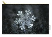 Real Snowflake - 26-dec-2018 - 1 Carry-all Pouch by Alexey Kljatov