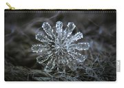 December 18 2015 - Snowflake 3 Carry-all Pouch by Alexey Kljatov