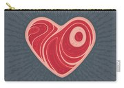 Meat Heart Carry-all Pouch