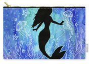 Mermaid Under Water Carry-all Pouch