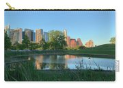 Spring Sunset Austin Skyline Butler Park Horizontal Carry-all Pouch