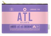 Retro Airline Luggage Tag 2.0 - Atl Atlanta United States Carry-all Pouch
