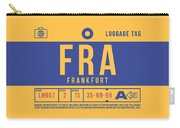 Retro Airline Luggage Tag 2.0 - Fra Frankfurt Germany Carry-all Pouch